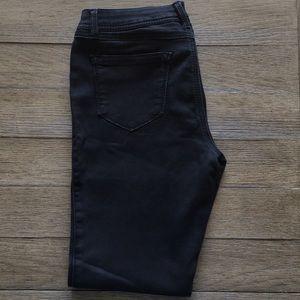 Skinny soft jeans black